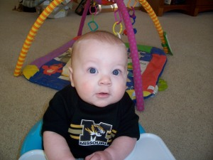 Bug cheering for Mizzou during March Madness!!